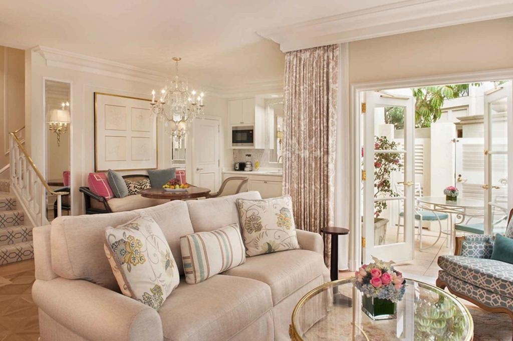 Villa suite at The Peninsula Beverly Hills