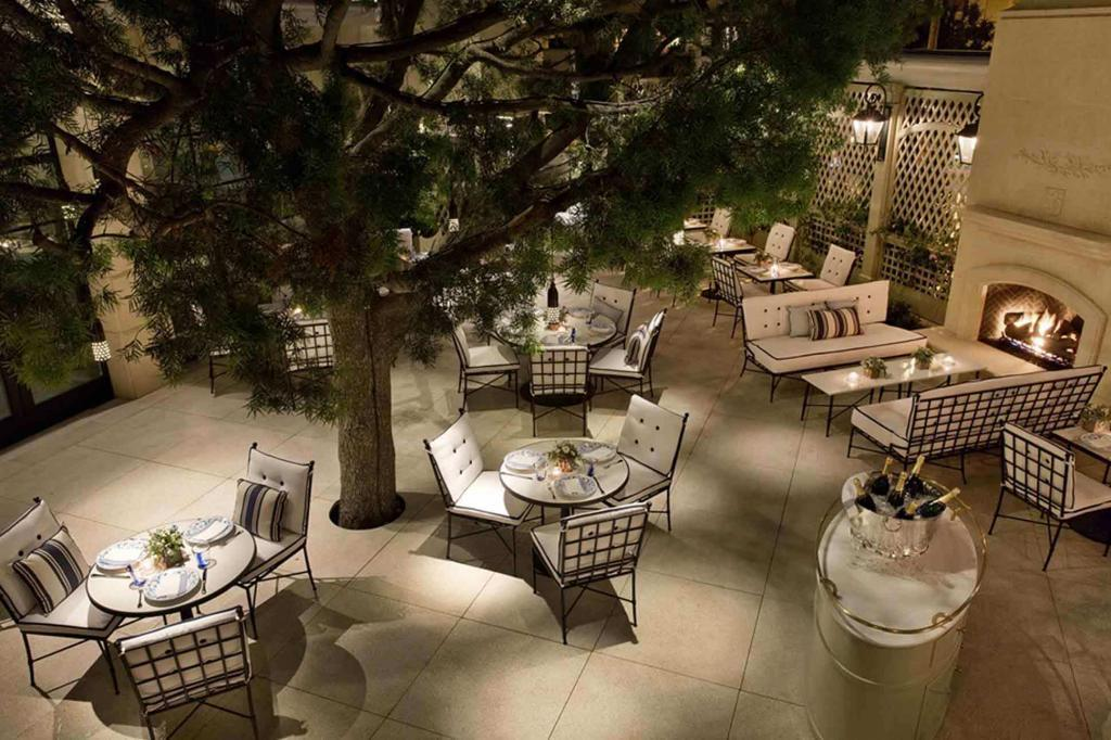 Terrace at The Peninsula Beverly Hills