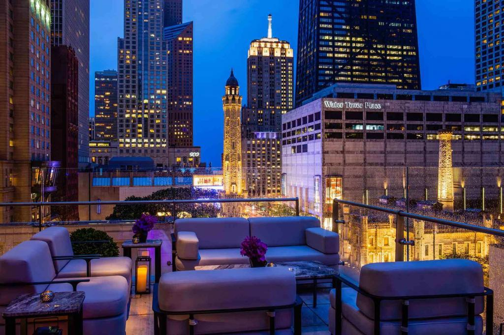 Rooftop at The Peninsula Chicago