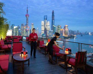 Bar at The Peninsula Shanghai