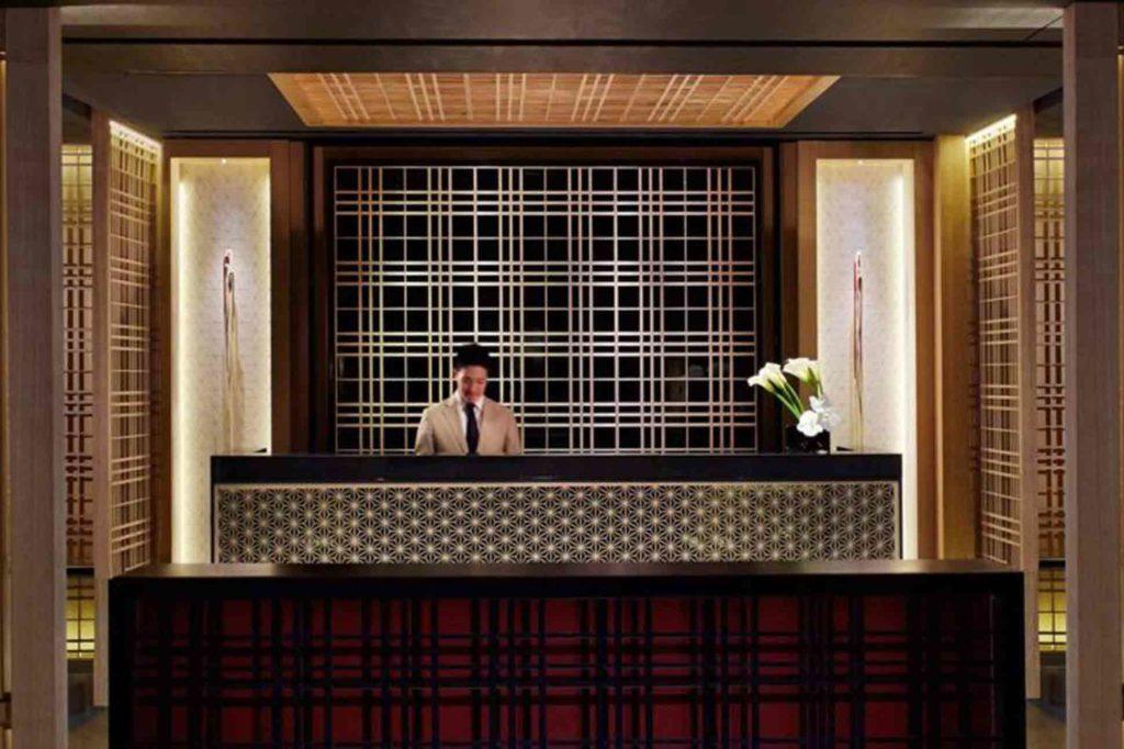 Reception at The Ritz-Carlton Kyoto
