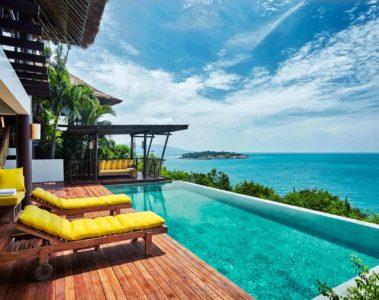 Villa with a view at Six Senses Samui, Thailand