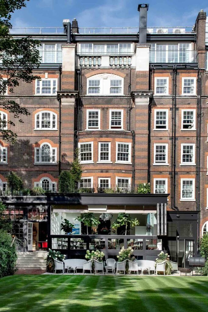 The garden at The Goring, London, United Kingdom