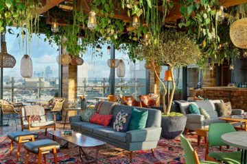 View at Treehouse London Hotel