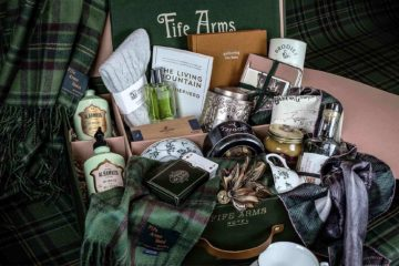 The Victoriana Hamper, available from the online shop of The Fife Arms, Braemar, Scotland