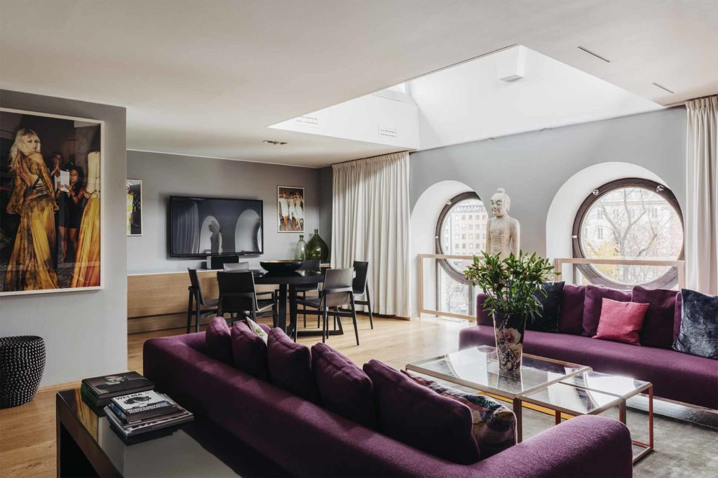 The Clock Suite at Berns, Stockholm, Sweden