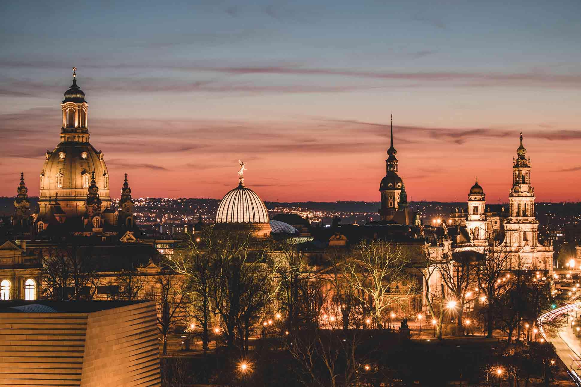 Evening in Dresden