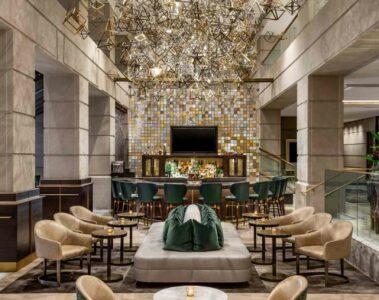 Lobby bar Fairmont Washington D.C.