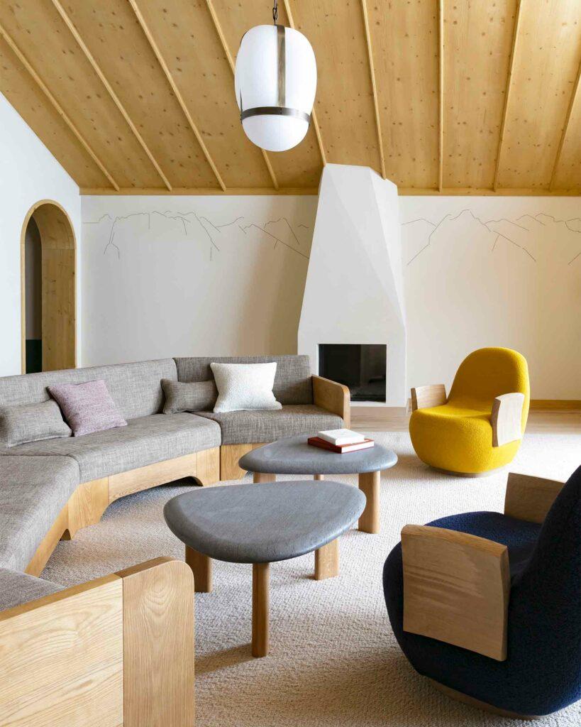 Interior at Le Coucou, Méribel, France