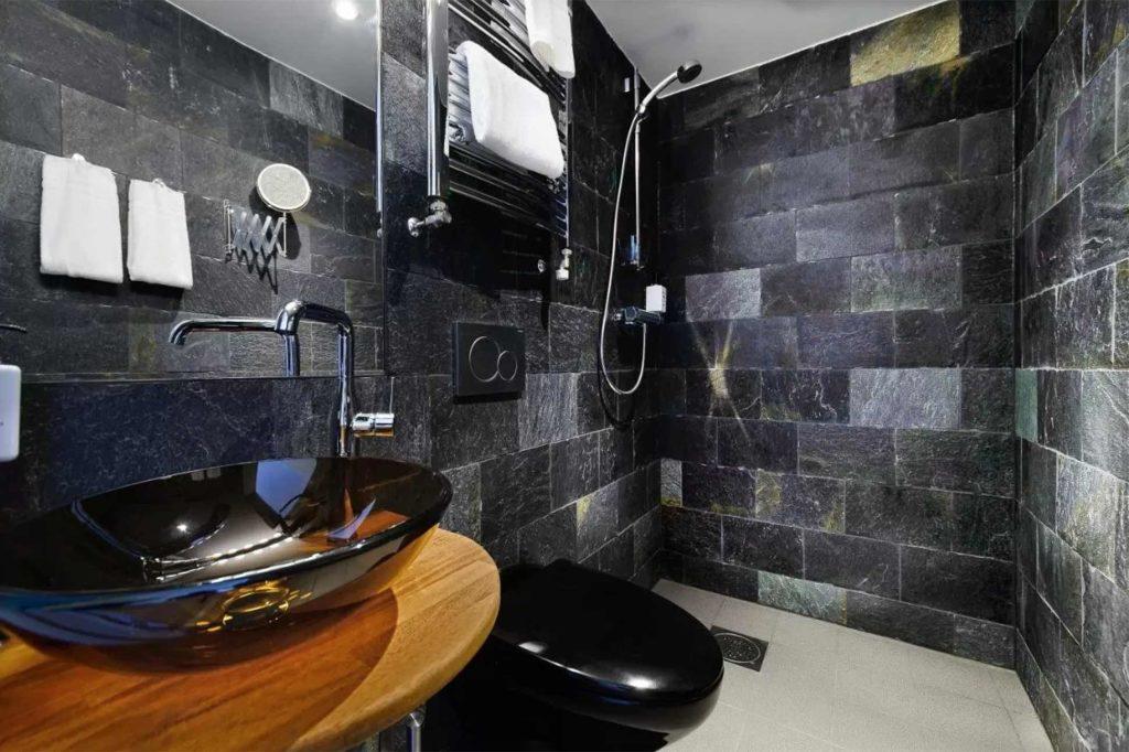 Bathroom at Hellsten Glashus, Stockholm, Sweden