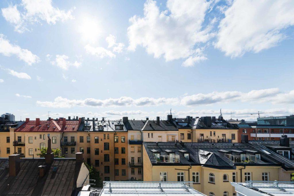 The view from Hellsten Glashus, Stockholm, Sweden