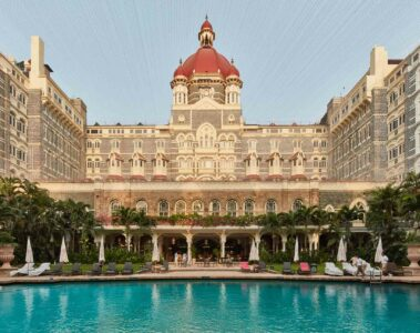 Taj Mahal Palace Mumbai India