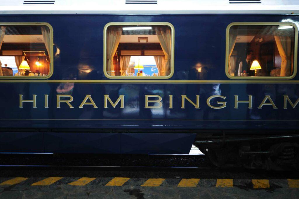 Belmond Hiram Bingham, Peru carriage