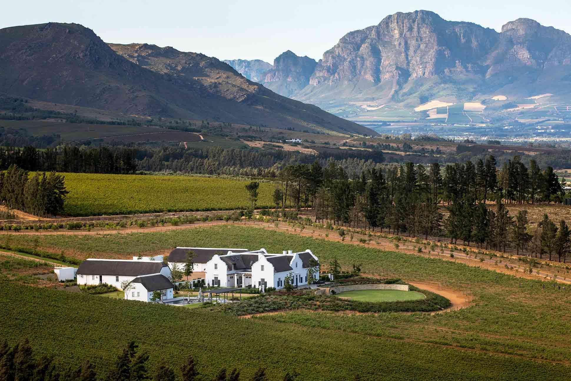 Brookdale Estate <br> Paarl, South Africa