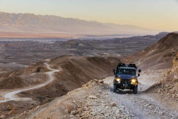 Desert Jeep ride at Six Senses Shaharut, Negev Desert, Israel