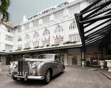 Exterior of Eastern and Oriental Hotel, Penang
