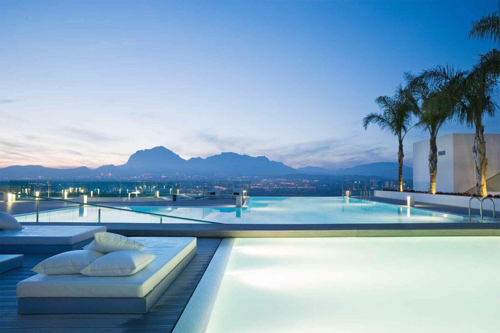 Pool at SHA Wellness Clinic, Spain