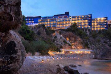 The Hotel Bellevue Dubrovnik private beach