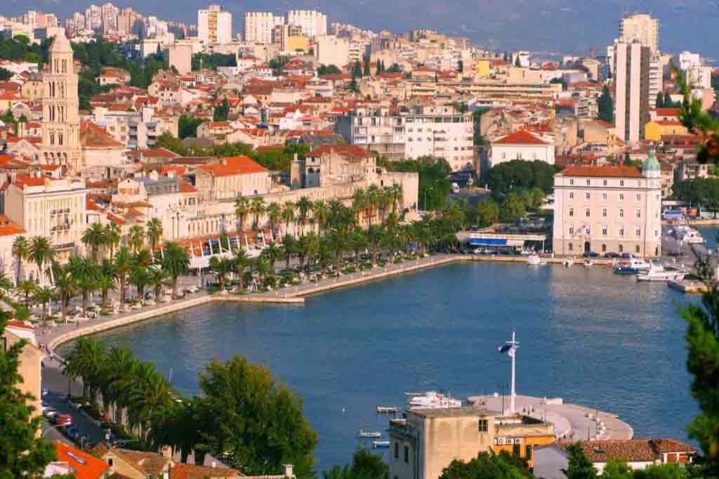 Hotel Luxe Split port view