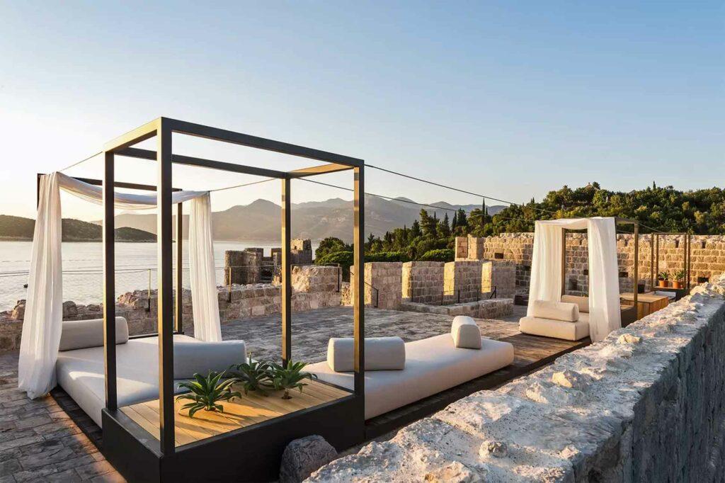 Lopud 1483 private island Croatia luxury
