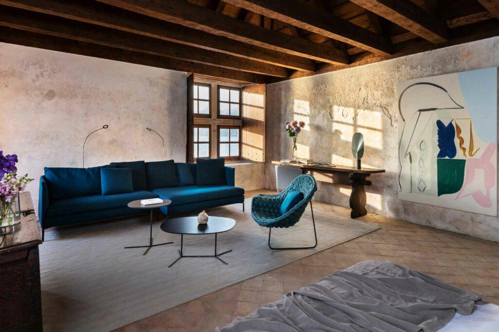 Lopud 1483 private island Croatia contemporary furnishings