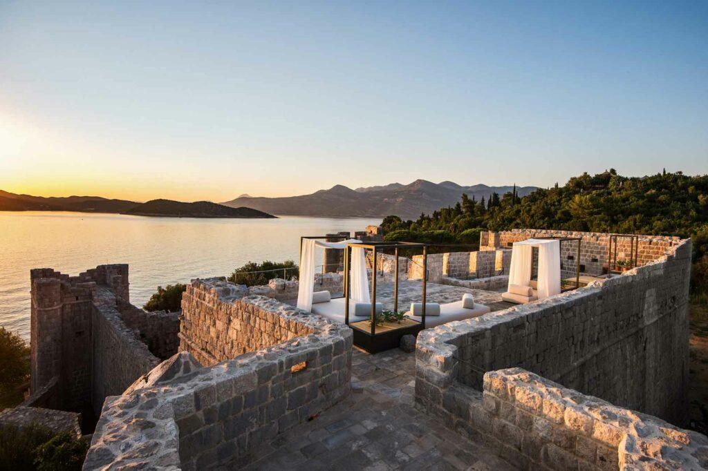 Lopud 1483 private island Croatia view