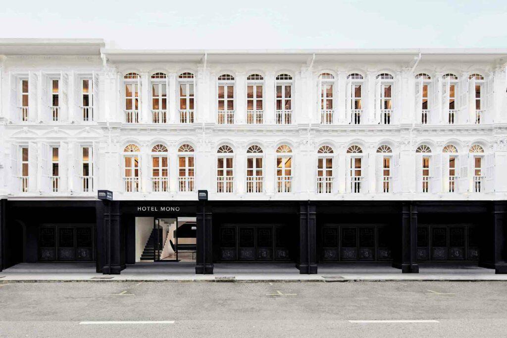 Exterior view of Hotel Mono, Singapore
