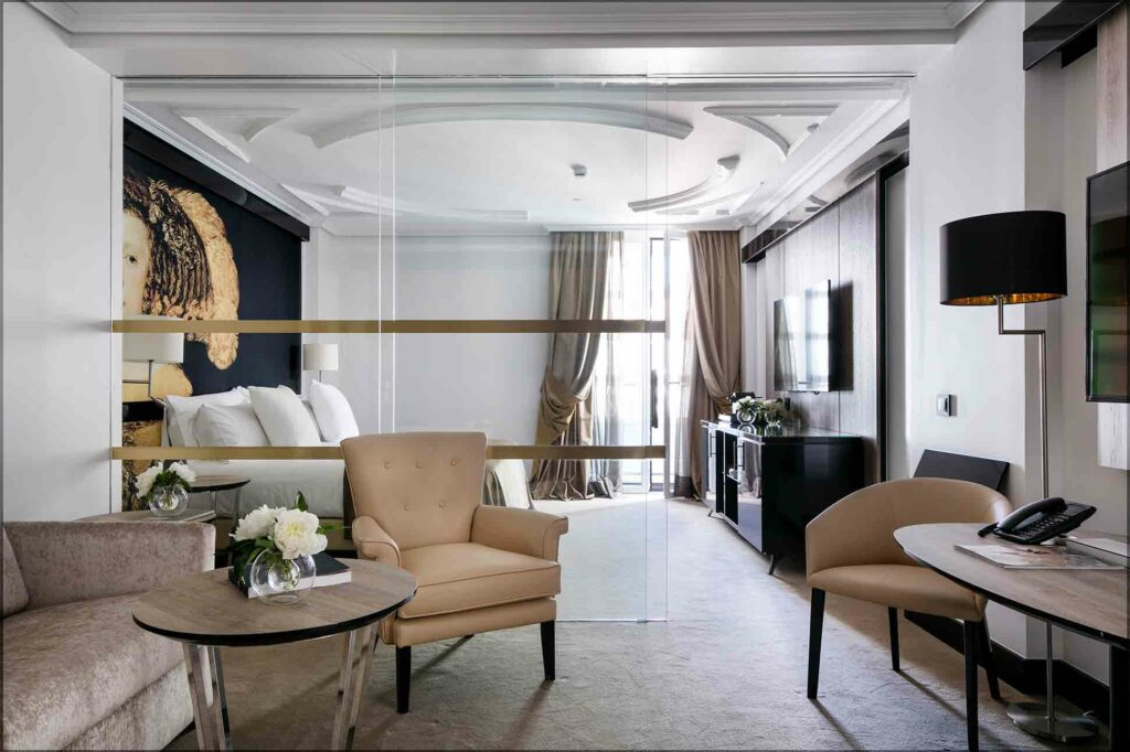 Suite at Palacio de los Duques Gran Melia, Madrid, Spain