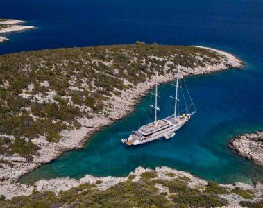RW Wakeley yacht journey of Croatia's hidden gems