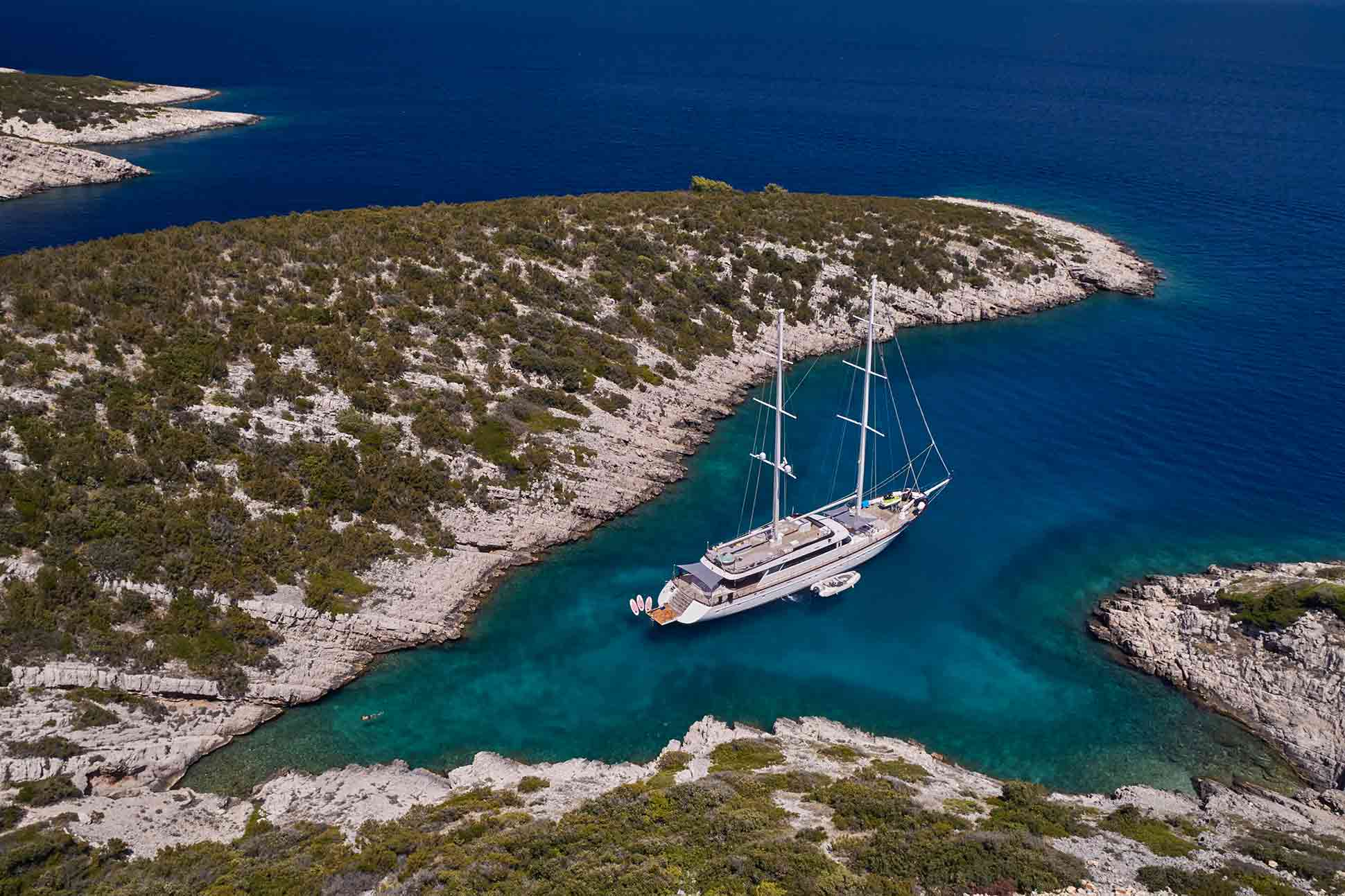 RW Wakeley Yachts x LOPUD 1483: <br> Croatian charms