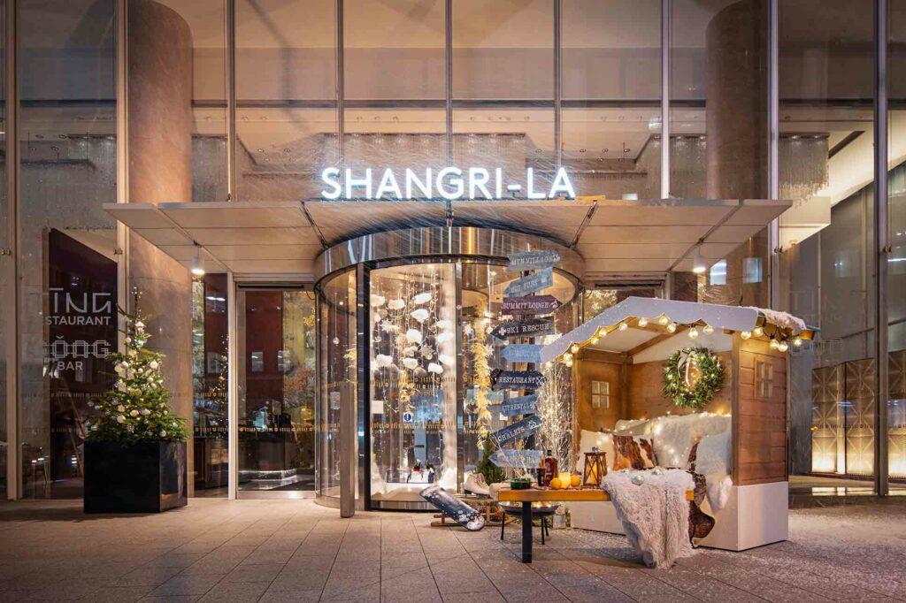 Shangri-la London Ski Lodge Entry