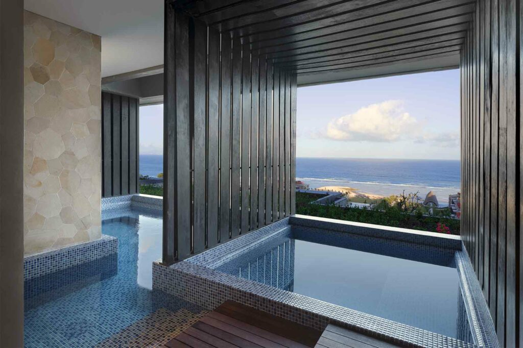The spa at The Apurva Kempinski Bali, Bali, Indonesia