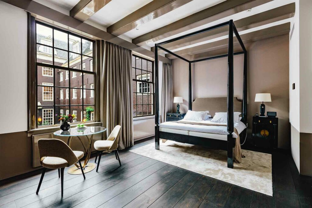 Suite at The Dylan, Amsterdam, The Netherlands