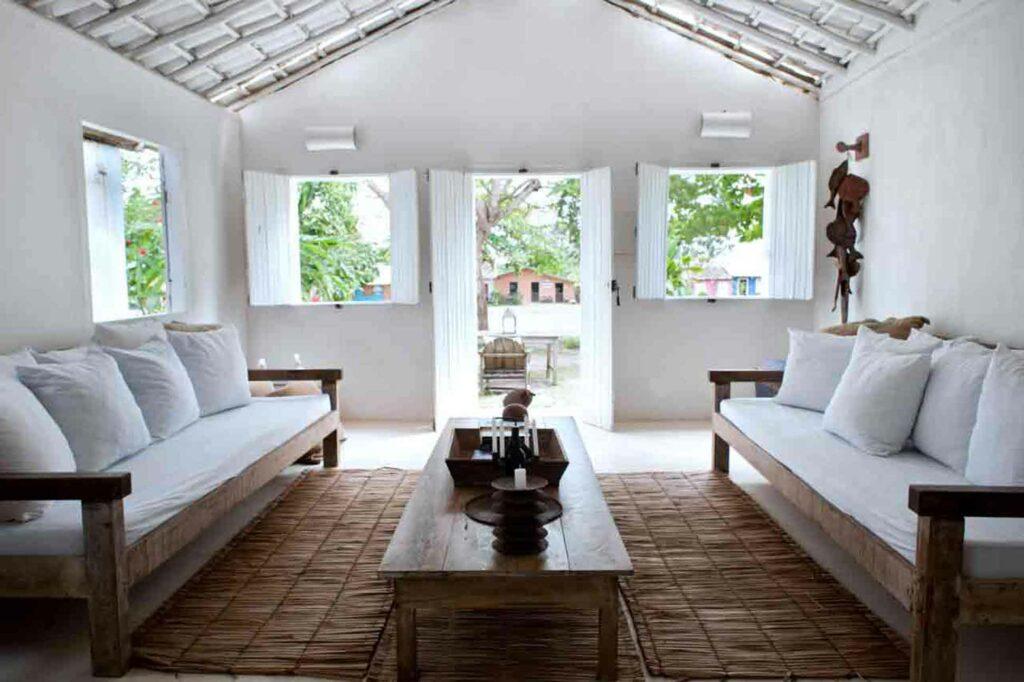 Uxua Casa Hotel and Spa living room