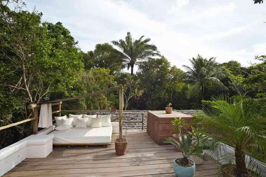 Uxua Casa Hotel and Spa terrace