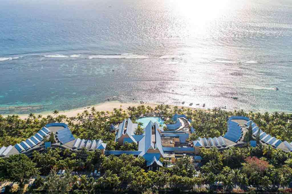 Beachcomber Victoria Resort & Spa, Mauritius birds eye view