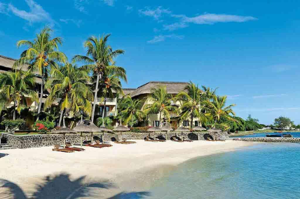 Beachcomber Victoria Resort & Spa, Mauritius beach view