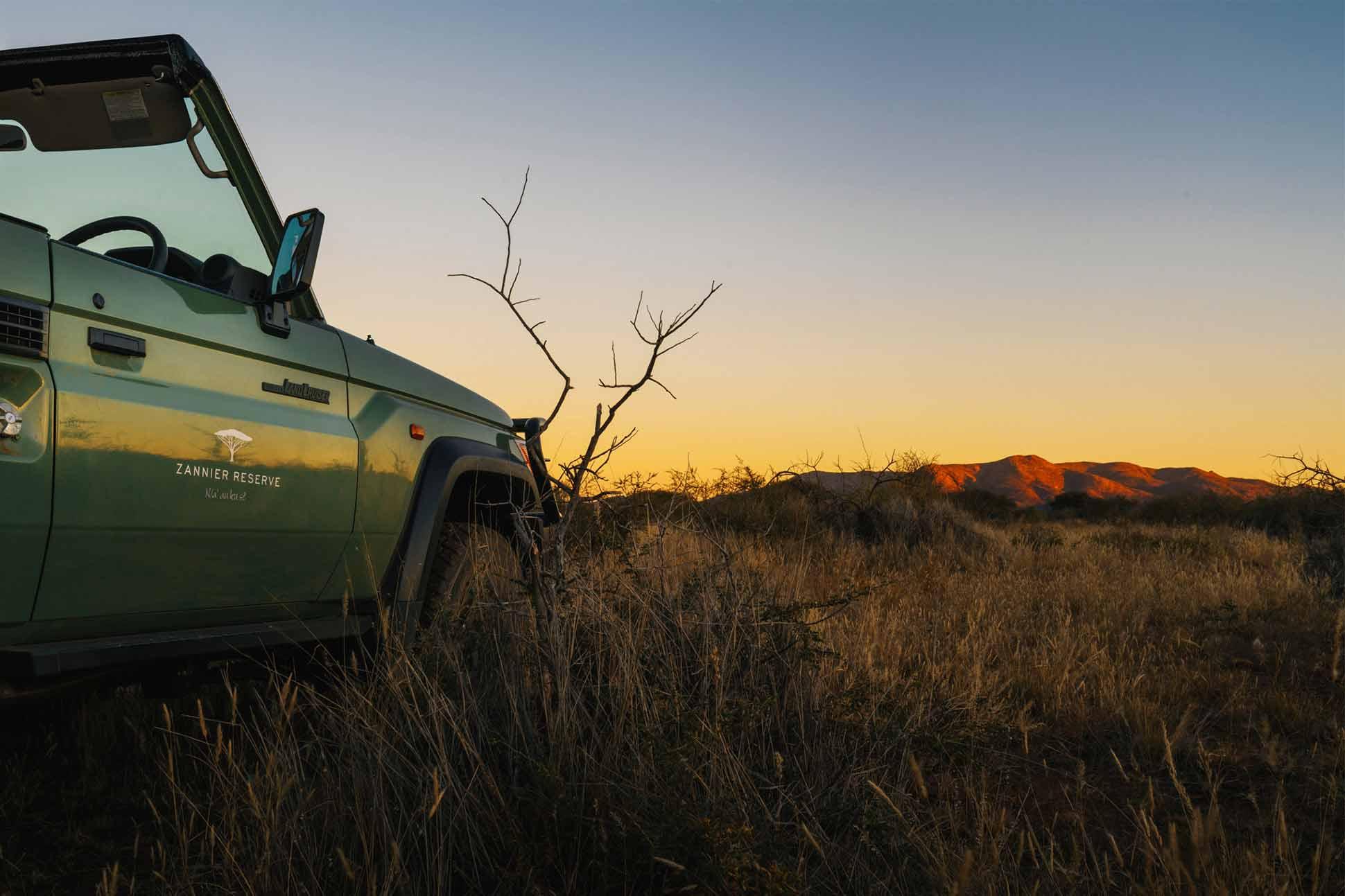 Zannier Hotels Omaanda continues Rhino Rangers programme: <br> Bush patrol