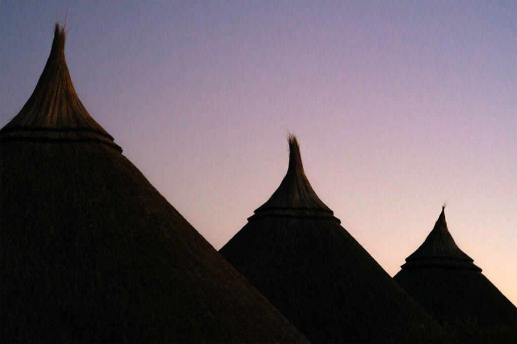 Traditional architecture of Zannier Hotels Omaanda, Namibia