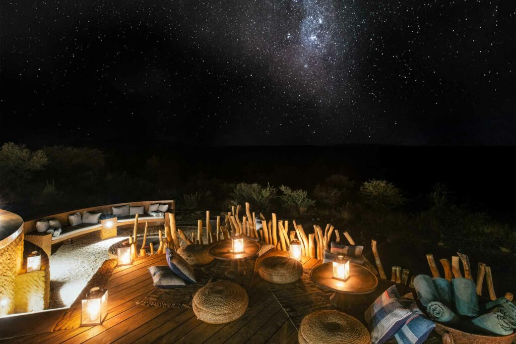 Starry skies over the savannah, Zannier Reserve, Namibia