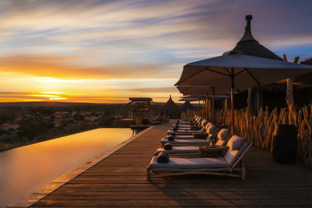 Pool at Zannier Hotels Omaanda, Namibia