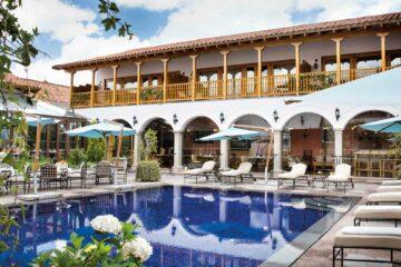 Belmond Palacio Nazarenas outdoor pool