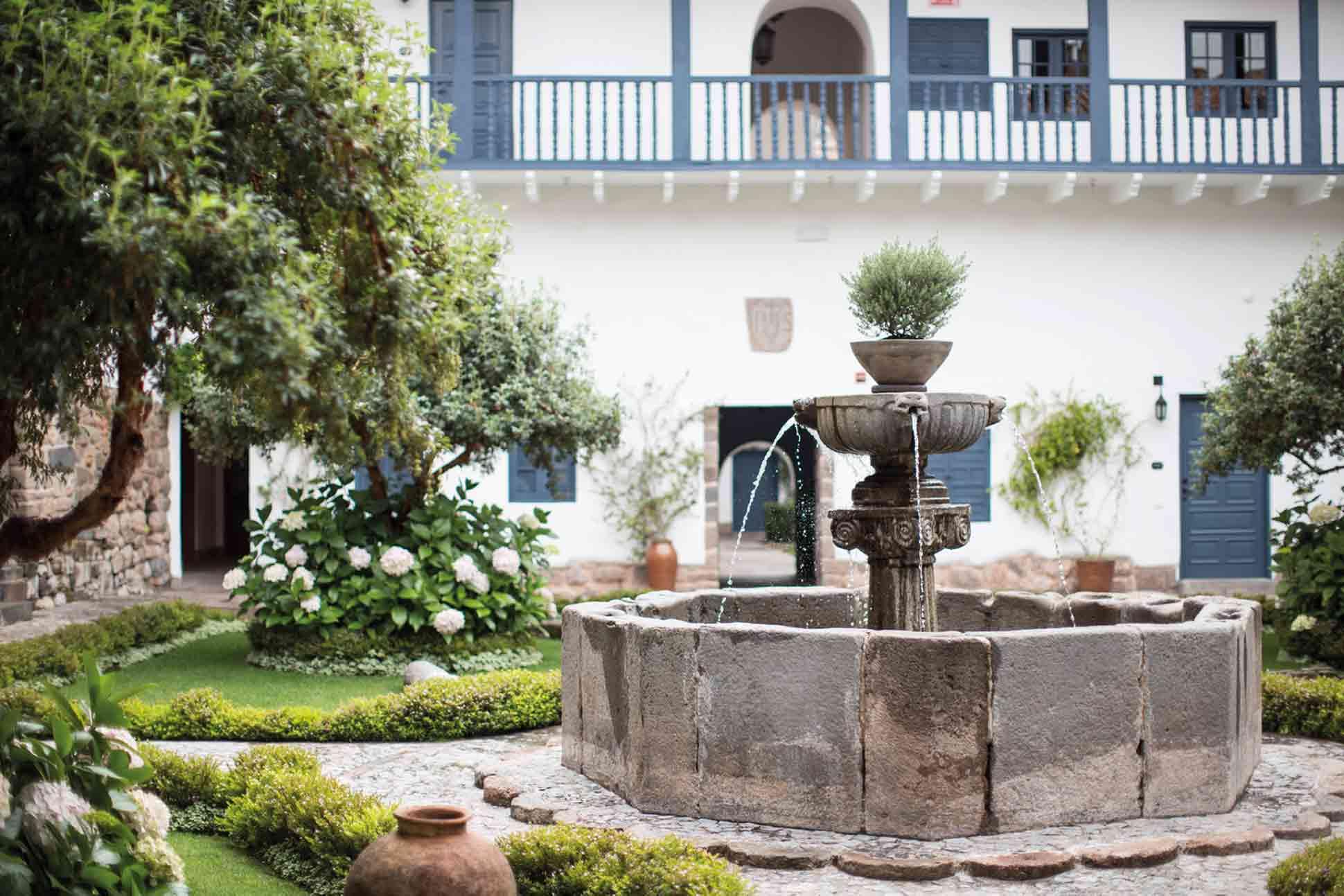 Belmond Palacio Nazarenas courtyard