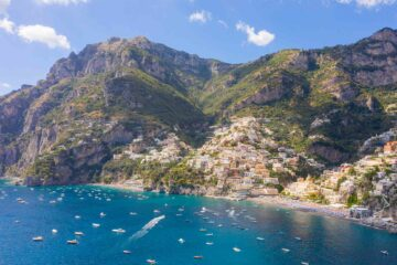 Capri on Italy's coasts