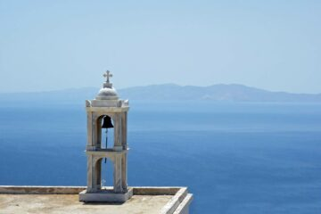 Tinos, Cyclades, Greece – Church with a view