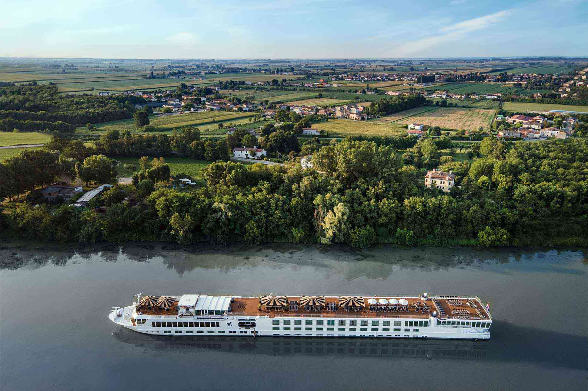 Uniworld river cruises new 'Super Ships': <br> Dreamboats