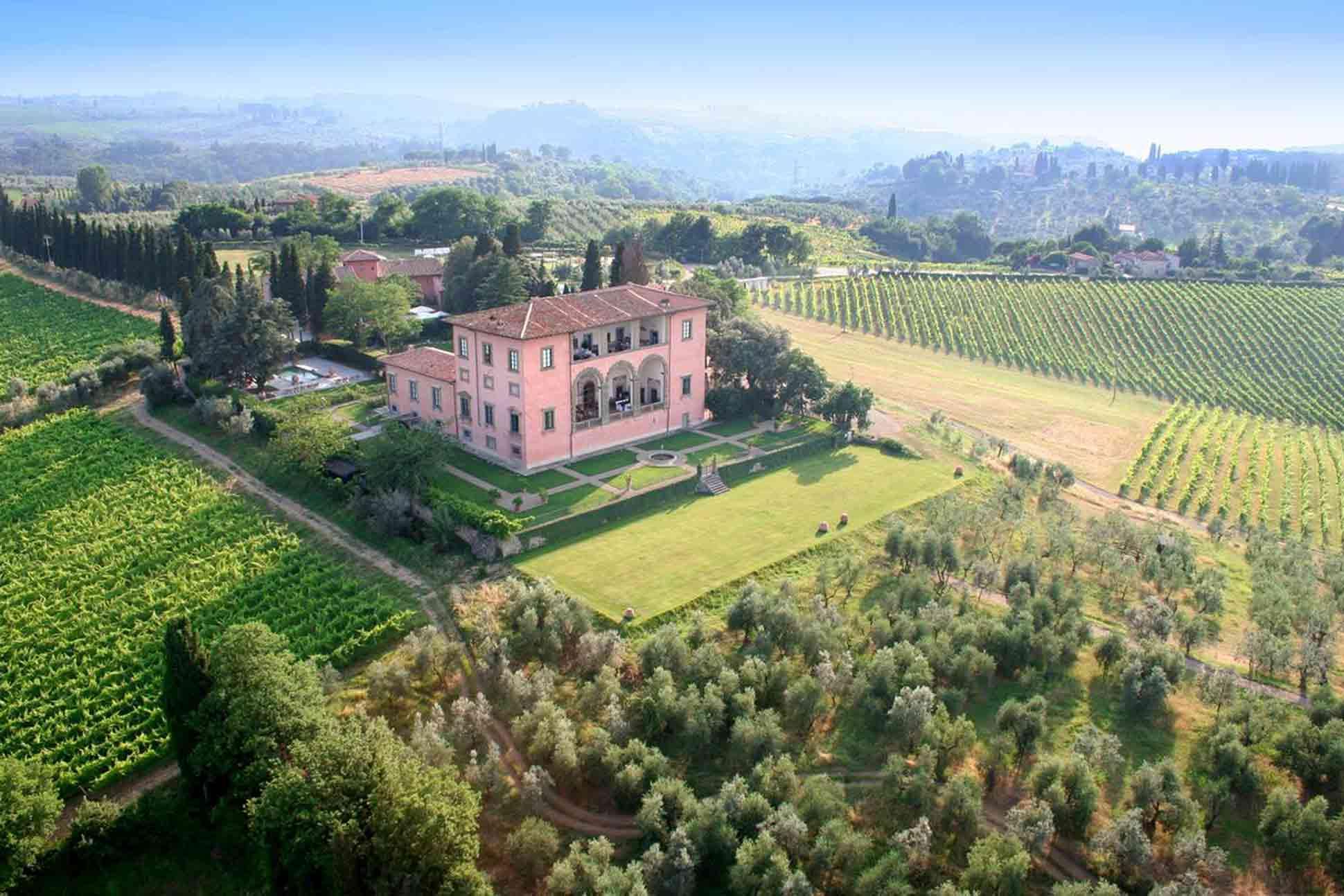 Villa Mangiacane, Tuscany