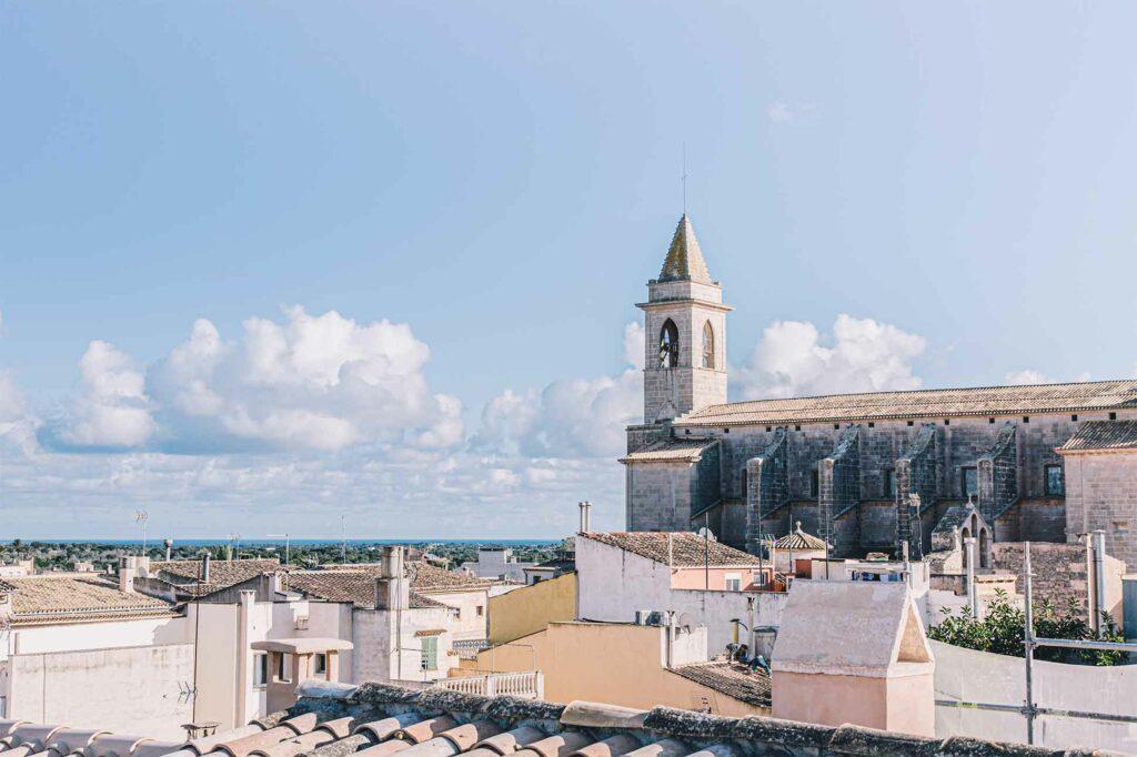 View over Santanyí, Mallorca, Spain