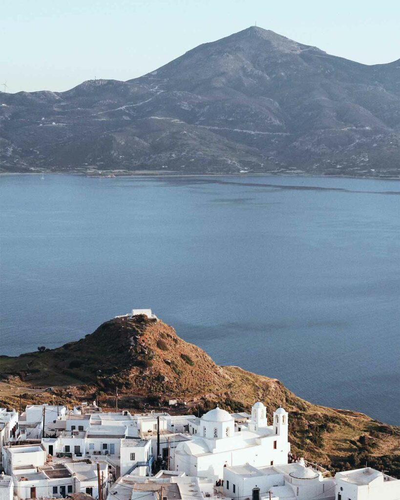 View over one of countless Greek islands holidaymakers will soon flock to