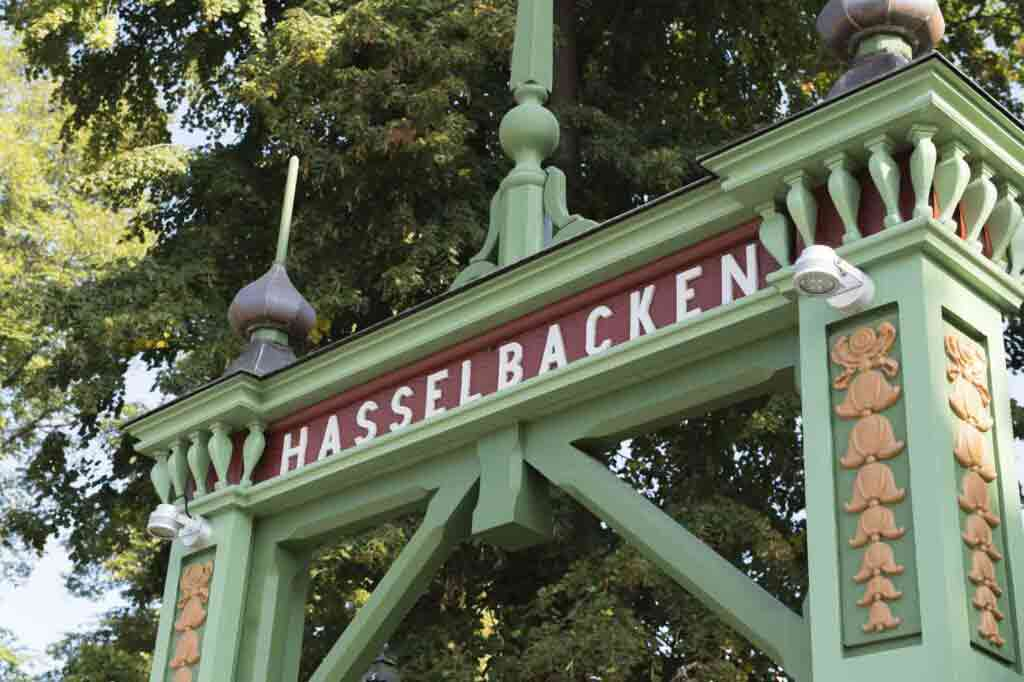 Hotel Hasselbacken Stockholm gate